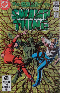 Cover Thumbnail for The Saga of Swamp Thing (DC, 1982 series) #10 [Direct]
