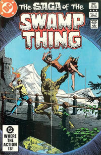 Cover Thumbnail for The Saga of Swamp Thing (DC, 1982 series) #12 [Direct-Sales]