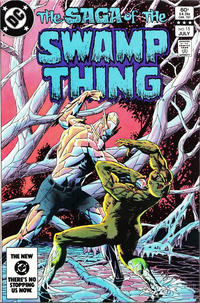 Cover Thumbnail for The Saga of Swamp Thing (DC, 1982 series) #15 [Direct-Sales]