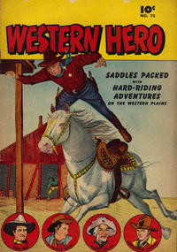 Cover Thumbnail for Western Hero (Anglo-American Publishing Company Limited, 1949 series) #73