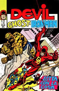 Cover Thumbnail for Devil - Ghost - Iron Man (Editoriale Corno, 1974 series) #119