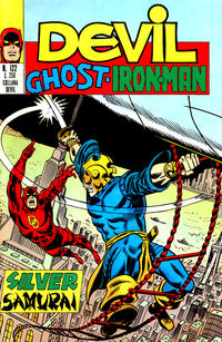 Cover Thumbnail for Devil - Ghost - Iron Man (Editoriale Corno, 1974 series) #122