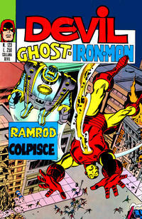 Cover Thumbnail for Devil - Ghost - Iron Man (Editoriale Corno, 1974 series) #123