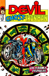 Cover Thumbnail for Devil - Ghost - Iron Man (Editoriale Corno, 1974 series) #124