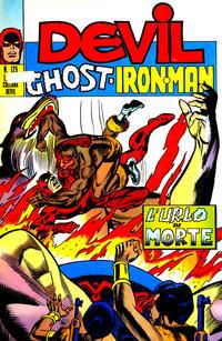 Cover Thumbnail for Devil - Ghost - Iron Man (Editoriale Corno, 1974 series) #125