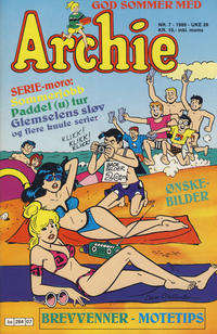 Cover Thumbnail for Archie (Semic, 1982 series) #7/1989