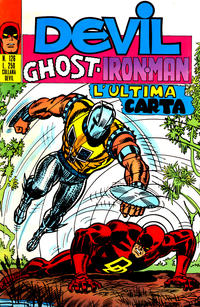 Cover Thumbnail for Devil - Ghost - Iron Man (Editoriale Corno, 1974 series) #126
