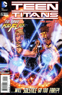 Cover Thumbnail for Teen Titans (DC, 2011 series) #29 [Direct Sales]