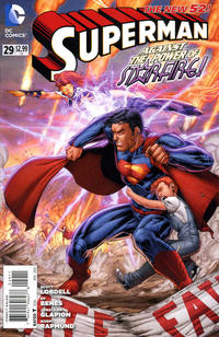 Cover Thumbnail for Superman (DC, 2011 series) #29 [Direct Sales]