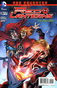 Cover Thumbnail for Red Lanterns (DC, 2011 series) #29