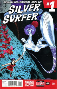 Cover Thumbnail for Silver Surfer (Marvel, 2014 series) #1