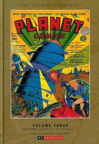 Cover Thumbnail for Roy Thomas Presents Planet Comics (PS, 2012 series) #3