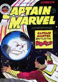Cover Thumbnail for Captain Marvel [Captain Marvel Adventures] (L. Miller & Son, 1953 series) #v1#22