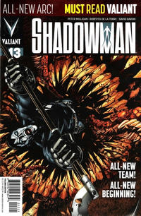 Cover Thumbnail for Shadowman (Valiant Entertainment, 2012 series) #13 [Cover B - Pullbox Edition - Miguel Angel Sepúlveda]