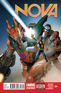 Cover Thumbnail for Nova (Marvel, 2013 series) #14 [Paco Medina Cover]