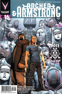 Cover Thumbnail for Archer and Armstrong (Valiant Entertainment, 2012 series) #16 [Cover A - Clayton Henry]