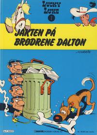 Cover Thumbnail for Lucky Luke (Semic, 1977 series) #7 - Jakten på brødrene Dalton [2. opplag]