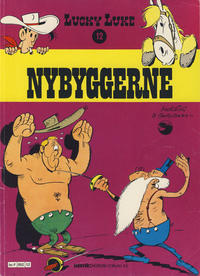 Cover Thumbnail for Lucky Luke (Semic, 1977 series) #12 - Nybyggerne [2. opplag]