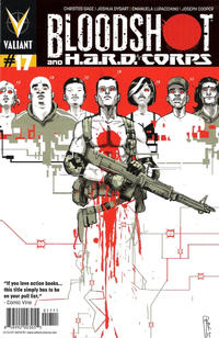 Cover Thumbnail for Bloodshot and H.A.R.D.Corps (Valiant Entertainment, 2013 series) #17 [Cover A - Riley Rossmo]