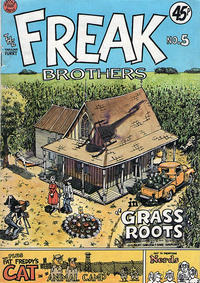 Cover Thumbnail for The Fabulous Furry Freak Brothers (Hassle Free Press, 1976 series) #5