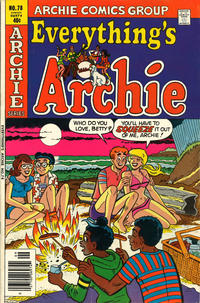 Cover Thumbnail for Everything's Archie (Archie, 1969 series) #78