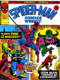 Cover Thumbnail for Spider-Man Comics Weekly (Marvel UK, 1973 series) #149