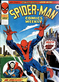Cover Thumbnail for Spider-Man Comics Weekly (Marvel UK, 1973 series) #157
