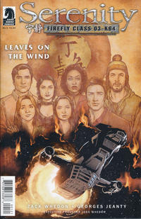Cover Thumbnail for Serenity: Firefly Class 03-K64 - Leaves on the Wind (Dark Horse, 2014 series) #1 [Georges Jeanty Alternate Cover]