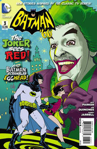 Cover Thumbnail for Batman '66 (DC, 2013 series) #3 [Cully Hamner Cover]
