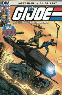 Cover Thumbnail for G.I. Joe: A Real American Hero (IDW, 2010 series) #200 [Cover A - S. L. Gallant]