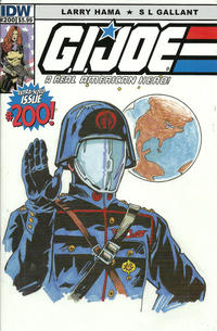 Cover Thumbnail for G.I. Joe: A Real American Hero (IDW, 2010 series) #200 [Cover B - Herb Trimpe]
