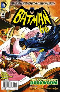 Cover Thumbnail for Batman '66 (DC, 2013 series) #6 [Jonathan Case Cover]