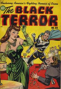 Cover Thumbnail for Black Terror Comics (Better Publications of Canada, 1948 series) #22