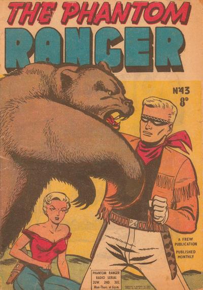Cover for The Phantom Ranger (Frew Publications, 1948 series) #43