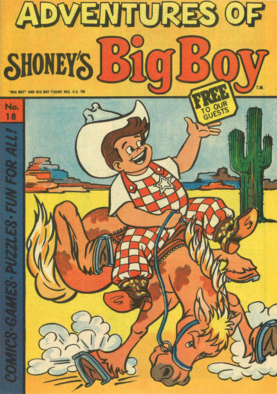 Cover for Adventures of Big Boy (Paragon Products, 1976 series) #18