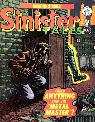 Cover for Sinister Tales (Alan Class, 1964 series) #132