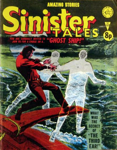 Cover for Sinister Tales (Alan Class, 1964 series) #127