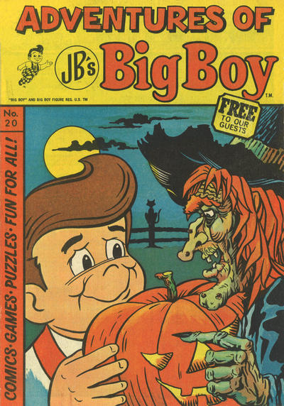 Cover for Adventures of Big Boy (Paragon Products, 1976 series) #20