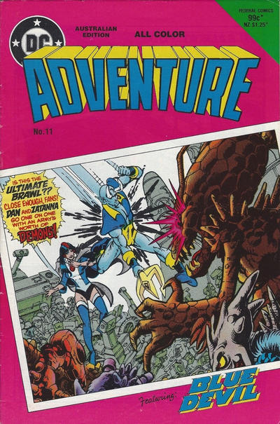 Cover for Adventure (Federal, 1983 series) #11