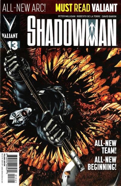 Cover for Shadowman (Valiant Entertainment, 2012 series) #13 [Cover D - Shane Davis]