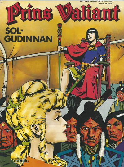 Cover for Prins Valiant (Semic, 1974 series) #13