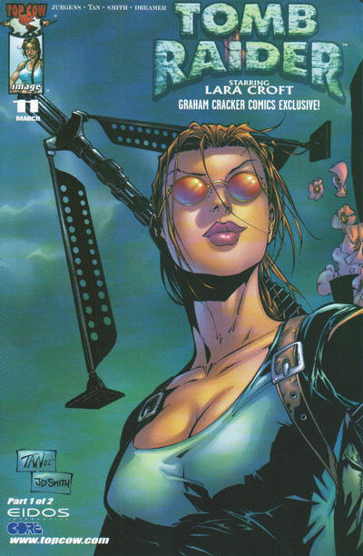 Cover for Tomb Raider: The Series (Image, 1999 series) #11 [Graham Cracker Variant]