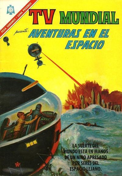 Cover for TV Mundial (Editorial Novaro, 1962 series) #89
