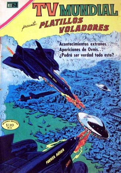 Cover for TV Mundial (Editorial Novaro, 1962 series) #182