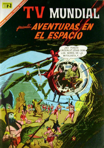 Cover for TV Mundial (Editorial Novaro, 1962 series) #100