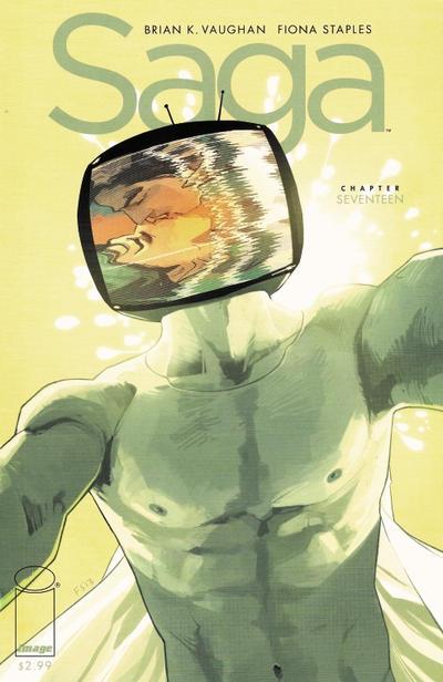 Cover for Saga (Image, 2012 series) #17