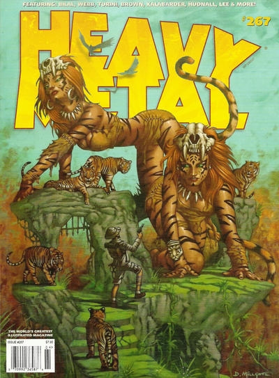 Cover for Heavy Metal Magazine (Heavy Metal, 1977 series) #267