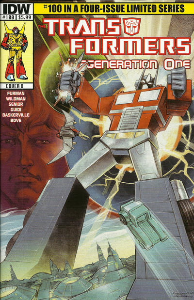 Cover for Transformers: Regeneration One (IDW, 2012 series) #100 [Cover B Guido Guidi]