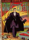 Cover for Classic Comics (Gilberton, 1941 series) #3 - The Count of Monte Cristo [HRN 10]