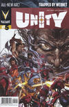 Cover for Unity (Valiant Entertainment, 2013 series) #5 [Cover A - Clayton Crain]
